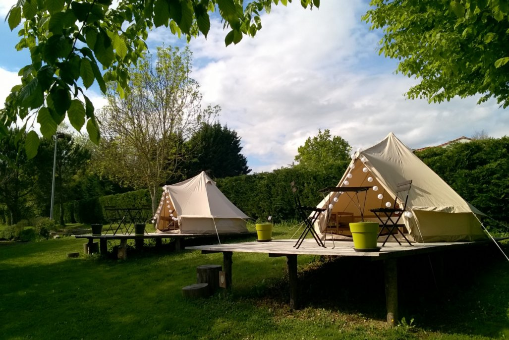 Previous & Beautiful tents and campsite in Southern France - Teepees Yurts ...